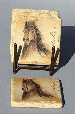 Arabian Horse Tiles - click to view larger